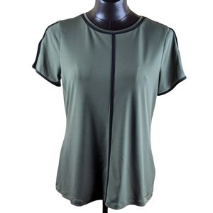 Calvin Klein Short Sleeve Tee Size Large Green